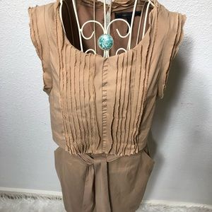 BCBG MAXAZRIA Dress Sz 6 sleeve less
